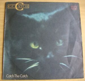 C.C.Catch Catch the Catch LP Schallplatte Vinyl