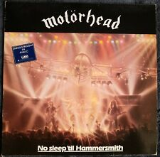 Motörhead ‎– No Sleep 'til Hammersmith (original pressage)