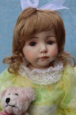 "Kayla - OOAK - 20"" Porcelain Doll - from Dianna Effner Expressions mold- edollru"