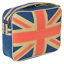 Union Jack Deporte Bandolera Bolsa Retro Clásico BANDERA del Reino Unido Gran