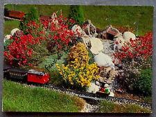 JARDIN FERROVIAIRE CHATTE SAINT MARCELLIN RAILWAY GARDEN       postcard