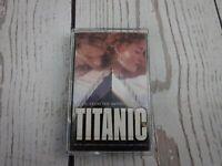Vintage Cassette Tape TITANIC Movie Soundtrack 1997 Celine Dion