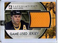 2012/13 ITG SUPERLATIVE ADAM OATES GAME/USED 1 OF 30