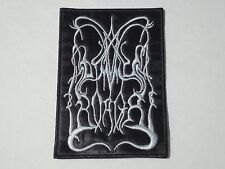 DIMMU BORGIR OLD LOGO EMBROIDERED PATCH