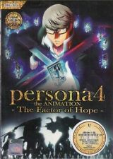 DVD Persona 4 The Animation P4 The Factor of Hope Movie