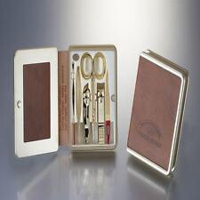 Three Seven 777 Travel Manicure Pedicure Grooming Set,steel,TS-5300G