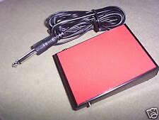 Monacor FS50A interruptor de pie 60 V 1 A acción de enganche sólido OM0283