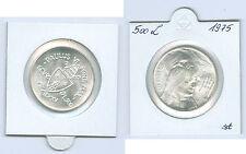 Vaticano 500 Lire 1975 Santo Anno Argento fior conio