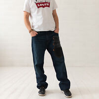 "Levi's 569 Relaxed Angepasst Blau Herren Jeans ""Post Move"" 38/32 W38 L32"