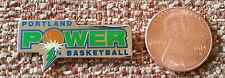 Portland Power Logo Abl American Basketball League Lapel Pin