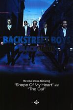 "~MUSIC POSTER~Backstreet Boys Black & Blue 2000 Original D/S 2 Sided 24x36"" NOS~"