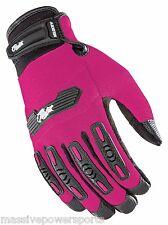 Joe Rocket Velocity 2.0 Motorcycle Gloves Pink Womens Small S SM