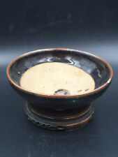 A BLACK-GLAZED CIZHOU TYPE BOWL (POSSIBLY SONG PERIOD)