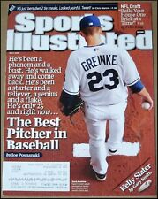5/4/2009 Sports Illustrated Zack Greinke Kansas City Royals Sedin Twins Henrik