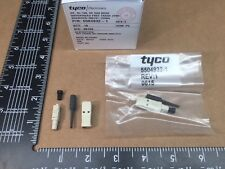 (5 pcs) 5504932-1 Tyco-AMP, 125µm, Fiber Optic Plug Connector SC Simplex