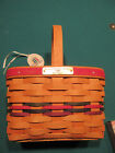 Longaberger 1999 Bee Basket with tie on