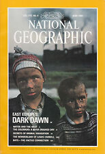 National Geographic June 1991 - Colorado River, Lewis Carroll, Bats and Cactus