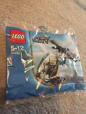 LEGO CITY 30222 Police Helicopter Polybag New And Sealed