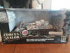 Forces of Valor *RARE* Panzer 4 ausf. G (Kowel, 1944). 1/32 Scale new in box.