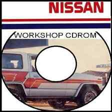 NISSAN PATROL MQ 160 Series L28 SD33 Workshop Service Repair Manual CDrom