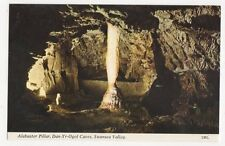 Alabaster Pillar Dan Yr Ogof Caves Swansea Valley Postcard 262a