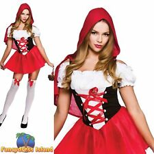 Little Red Riding Hood Storybook Fairytale Adult Womens Fancy Dress Costume