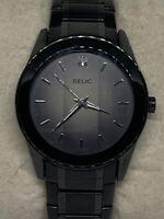 Relic ZR77271 Men's Black Stainless Steel Analog Dial Quartz Wrist Watch  Ee217