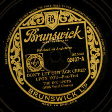 INK Spots Don 't let Old Age creep upon you/Yes-Suh! GOMMA LACCA s6679