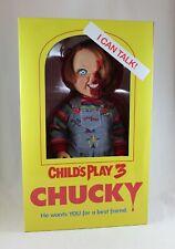 """Child's Play 3 Talking Chucky 15"""" Good Guy Pizza Face Mega Talking Doll Mezco"""