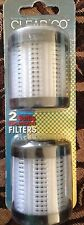 1 pack 2 filters  Clear2Go Replacement Water Bottle Filters