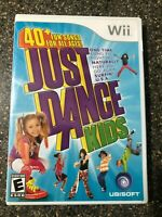 Just Dance Kids (Nintendo Wii, 2010), Clean & Tested Working - Free Ship