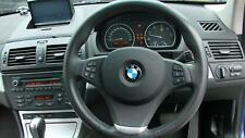 BMW X3 LEATHER STEERING WHEEL, E83, 12/06-11/10