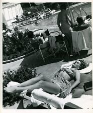 CORINNE CALVET 1949 VINTAGE PHOTO ORIGINAL #2 GLAMOUR