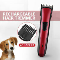 Dog Pet Hair Clipper Cordless Electric Trimmer Rechargeable Wireless Grooming 🔥