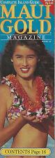 Complete Island Guide Maui Gold Magazine Winter 1993 Whales Snorkeling Molokai