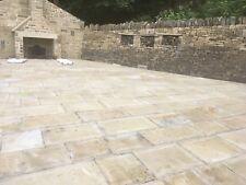 450mm Natural Yorkshire Stone Paving Yorkstone £60 Mtr  slabs Setts Reclaimed