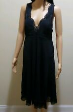 Women Crisscross Dress in Black by La Redoute US 6 New with tag
