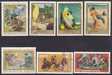 7 Number Hungarian Stamps