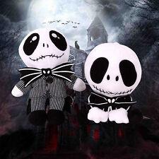 The Nightmare Before Christmas Jack Skellington Soft Plush Toy Doll Kids Gift UK All 2 Pcs