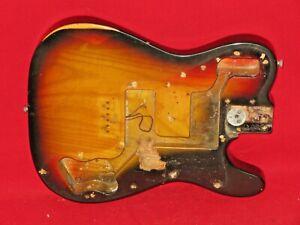 Fender 1975 Sunburst Telecaster Deluxe Ash Body