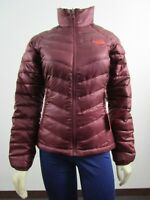Womens The North Face TNF Flare Full Zip 550-Down Winter Packable Jacket Red