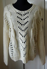 NEW Cape Daisy by TK Maxx knitted Jumper UK size 10 or S, euro 36