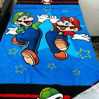 Nintendo Super Mario LUIGI Beach Towel Bath Towel 100% Cotton 71cm*147cm