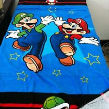 Nintendo Super Mario LUIGI Beach Towel Bath Towel 100% Cotton 71cm*147cm