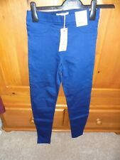 BNWT M&S High Rise size 6 Blue Jeggings