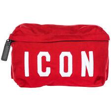 Dsquared2 Men's Belt Bum Bag Hip Pouch Icon Red 25e