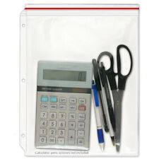 Storesmart Supply Zipper Case For 3 Ring Binders 10 Pack Vinyl Plastic Vh309 10