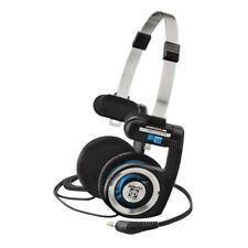 Koss Porta Pro On Ear Folding Stereophones 3.5 mm Jack Silver Black Genuine