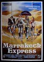 M148 Manifesto 4F Marrakech Express Gabriele Salvatores Abatantuono