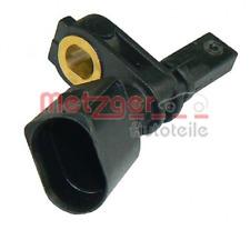 Sensor, Raddrehzahl für Bremsanlage Vorderachse METZGER 0900074